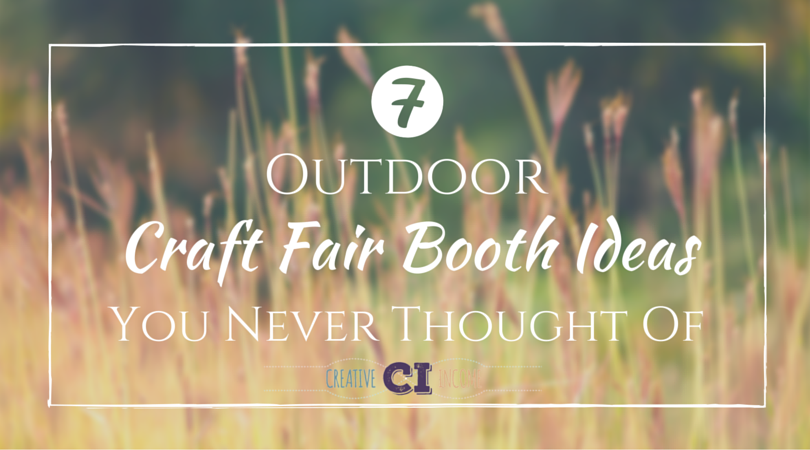 Outdoor Craft Fair Booth Ideas Youve Never Thought Of Creative - Car show vendor ideas