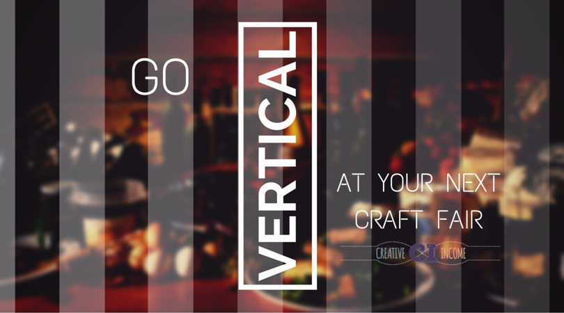 vertical craft fair booth