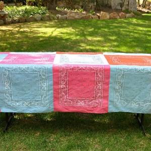 Bandana Quilt Tablecloth