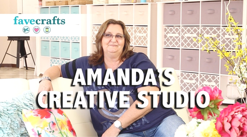 See Our Visit to Amanda Formaro's New Craft Studio!