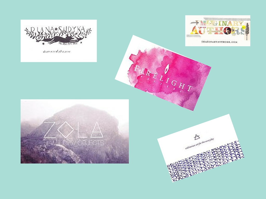Best Business Card Designs: Renegade Craft Fair 2015