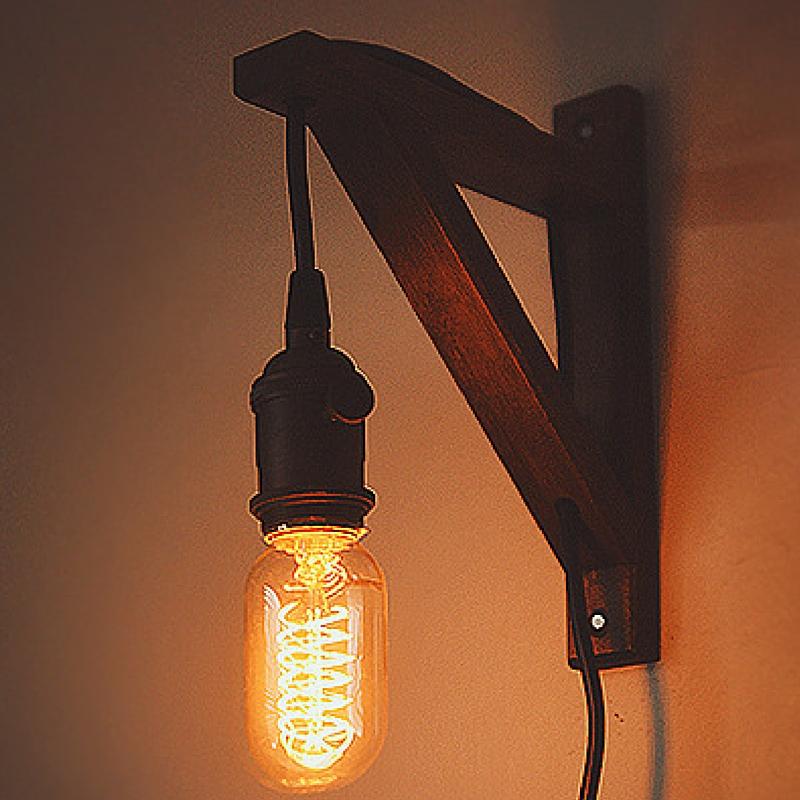DIY Edison Sconce