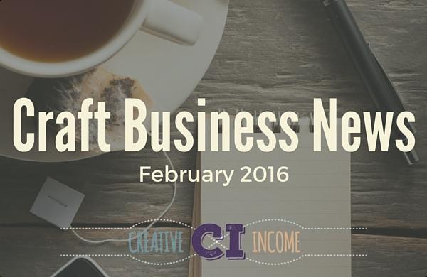 Craft Business News (Feb edition)