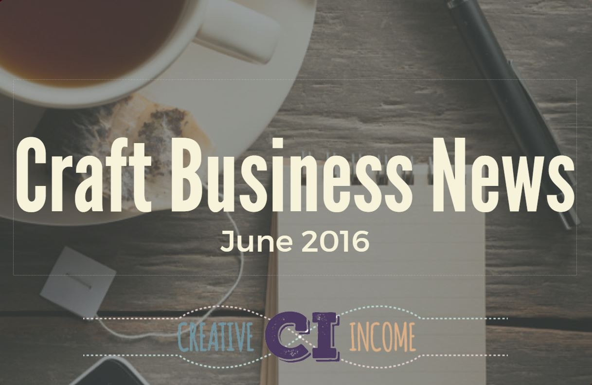 Creative Income News June 2016