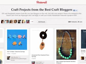 Pinterest Craft Bloggers Board