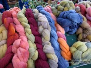 Yarn at a Craft Fair