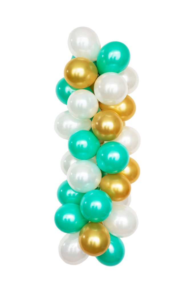 """n example of one of the newest color bpalettes from the Luft Balloon Store, called """"Tiffany."""""""