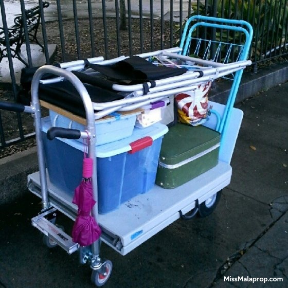 craft show must have: Magliner cart
