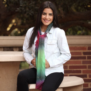 Anytime Tie Dye Scarf