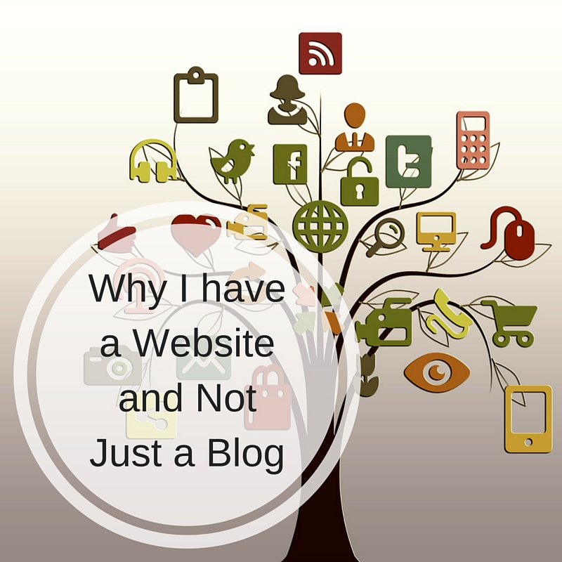 Why I have a Website and Not Just a Blog